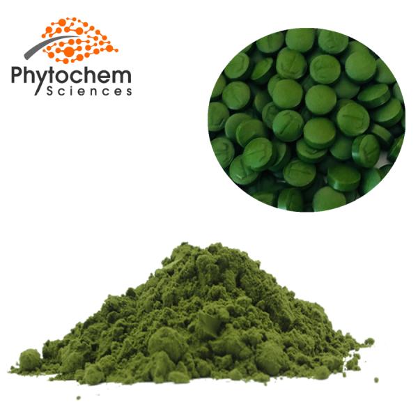 Chlorella powder tablets