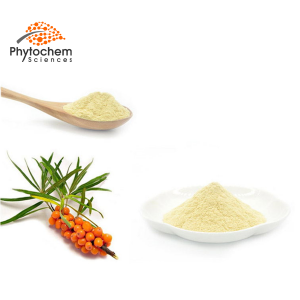Sea buckthorn extract is widely used in food processing and medicine